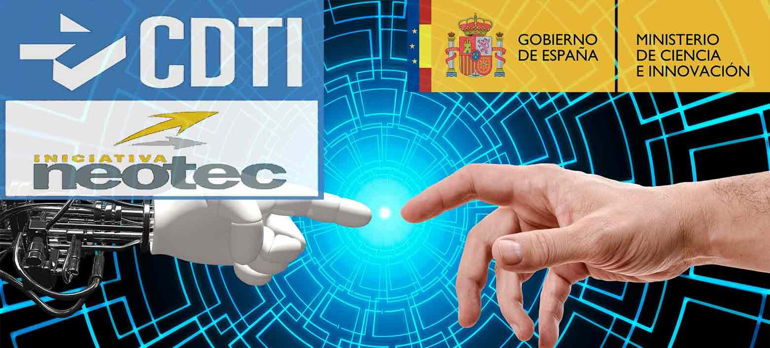logo del CDTI subvención NEOTEC