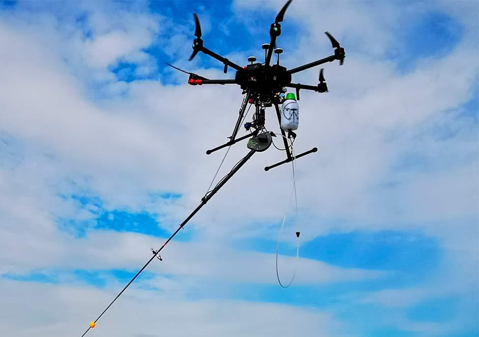 Drone FitoVelu luchando contra la avispa asiática (velutina)
