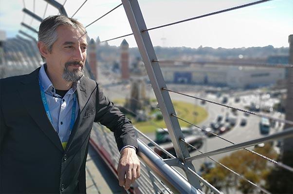 Bild von Iván Sanz Gründer von Fitostinger